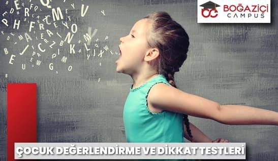 ÇOCUK DEĞERLENDİRME VE DİKKAT TESTLERİ Eğitim Resim